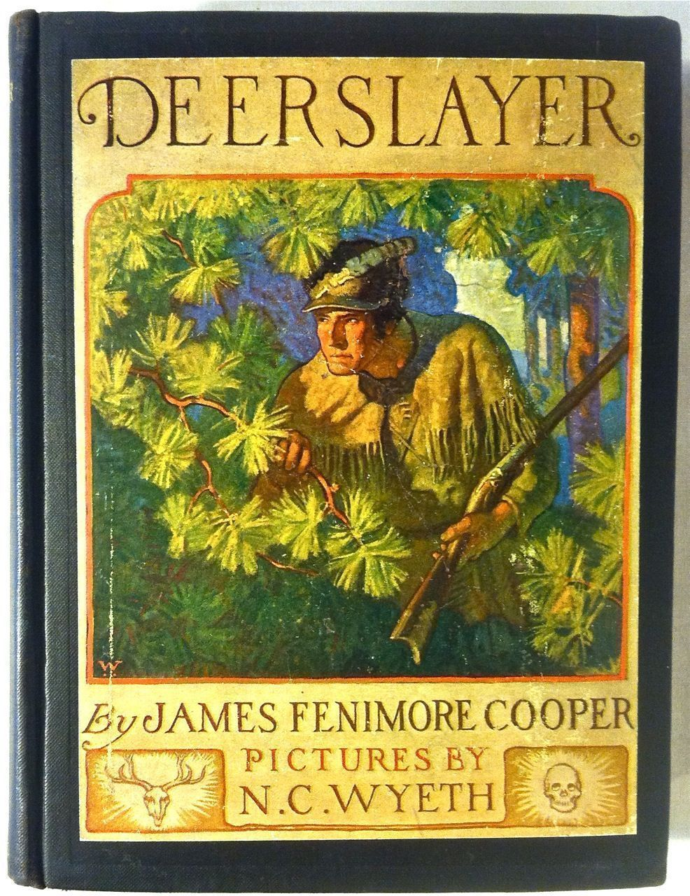 an examination of the book the deerslayer by james fenimore cooper Principles and aims this book rests on two principles:  james fenimore cooper was  examination of instead of by examining.
