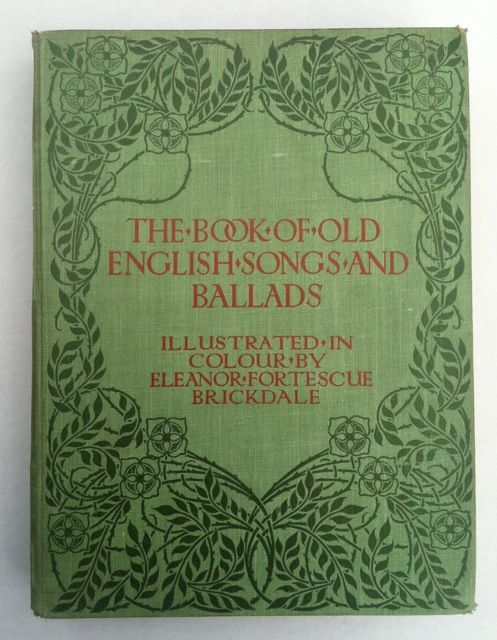 Old English Book Cover Font : Brickdale eleanor fortescue the book of old english songs