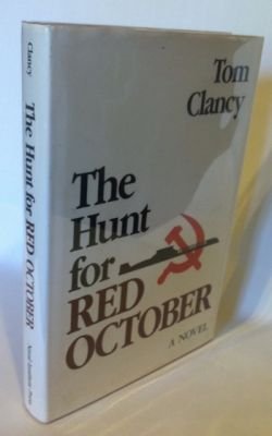 The Hunt for Red October. Tom Clancy.