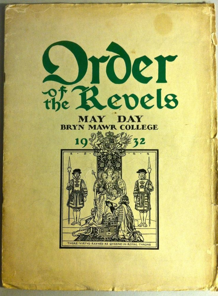 Order of the Revels. May Day Revels and Plays. (E.S. Green). Caroline Chadwick Collins.
