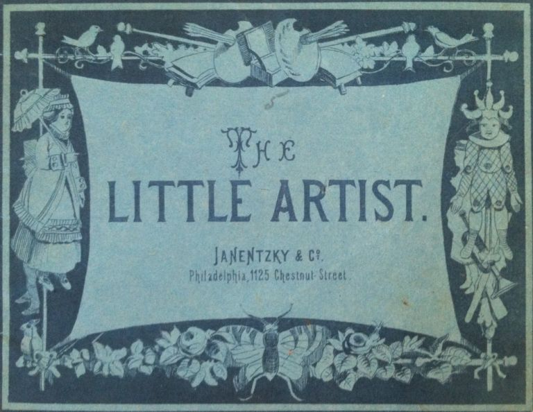 The Little Artist. Children's Book.