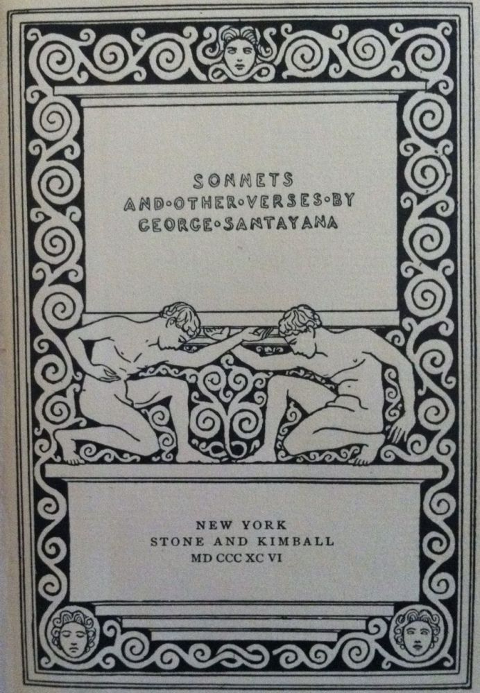 Sonnets and other Verses. Stone, Kimball.
