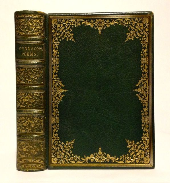 ROSSETTI, MILLAIS, HUNT, ETC: THE MOXON TENNYSON] Poems. Alfred Lord Tennyson.