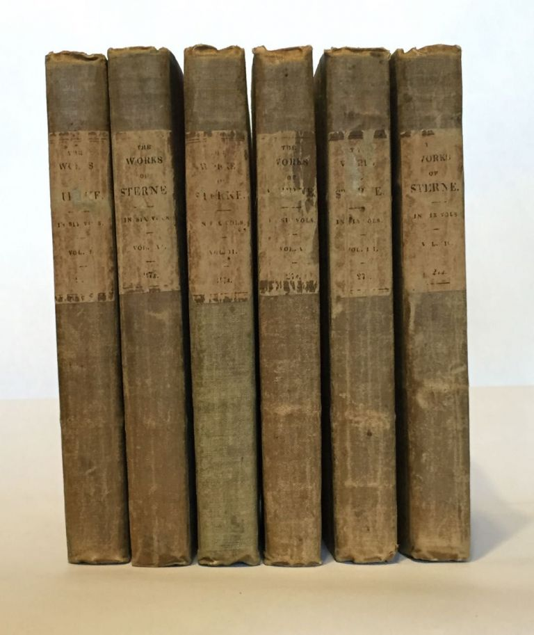 The Works of Laurence Sterne in Six Volumes. Laurence Sterne.