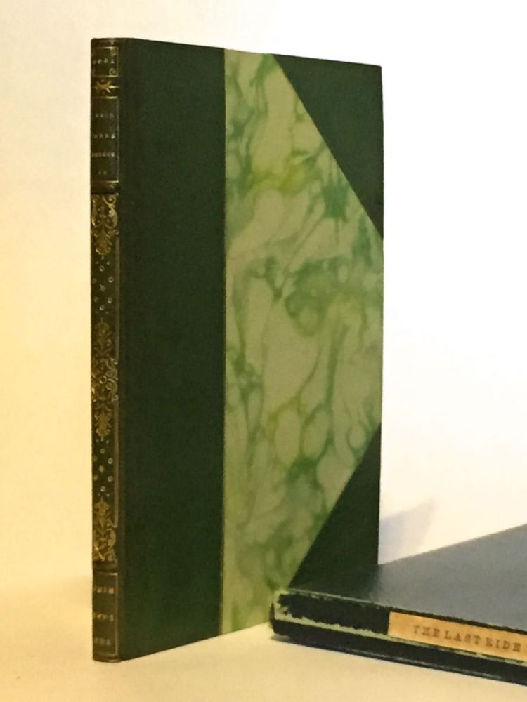 [Roycroft Press] The Last Ride. Robert Browning.