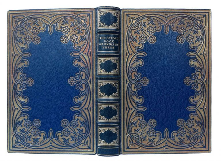 [Binding, Fine- Riviere] Oxford Book of Verse. Arthur Quiller-Couch.