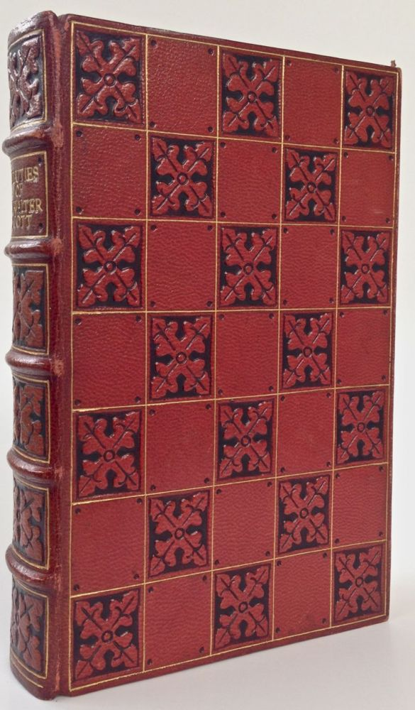 [Binding, Fine- Scottish Guild] Beauties of Sir Walter Scott Being a Selection From his Writings and Life. Sir Walter Scott.
