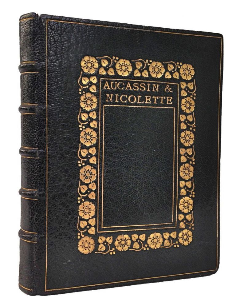[Copeland and Day- Fine Binding: Marian Lane] This is of Aucassin and Nicolette