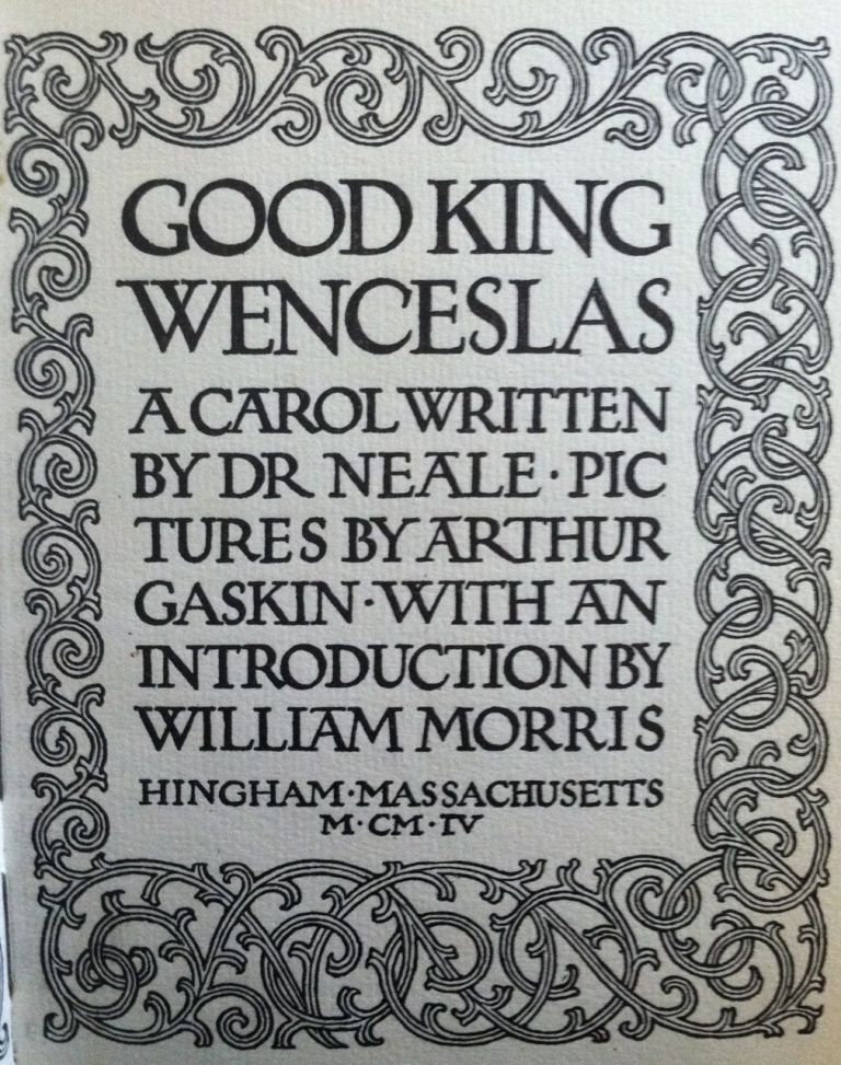 [Gaskin, Arthur] Good King Wenceslas