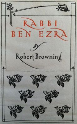 [Bradley, Will] Rabbi Ben Ezra
