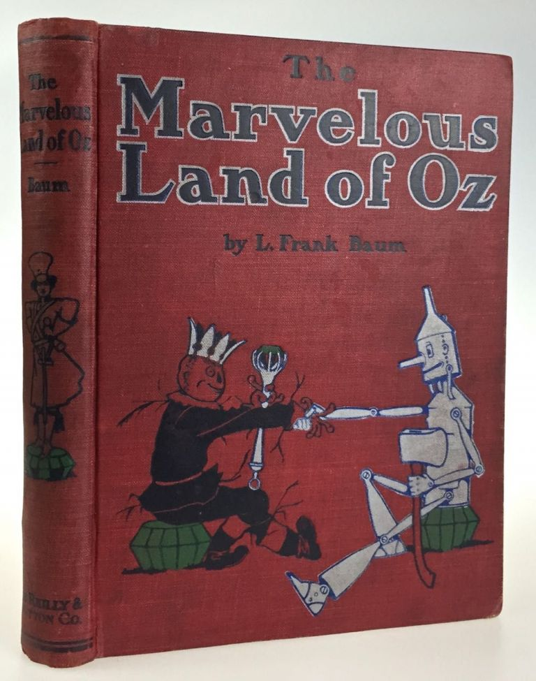 Marvelous Land of Oz. L. Frank Baum.