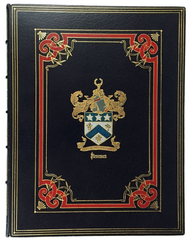 Stevenson and Allied Families Genealogical and Biographical. Fine Binding, Mary E. Stevenson.