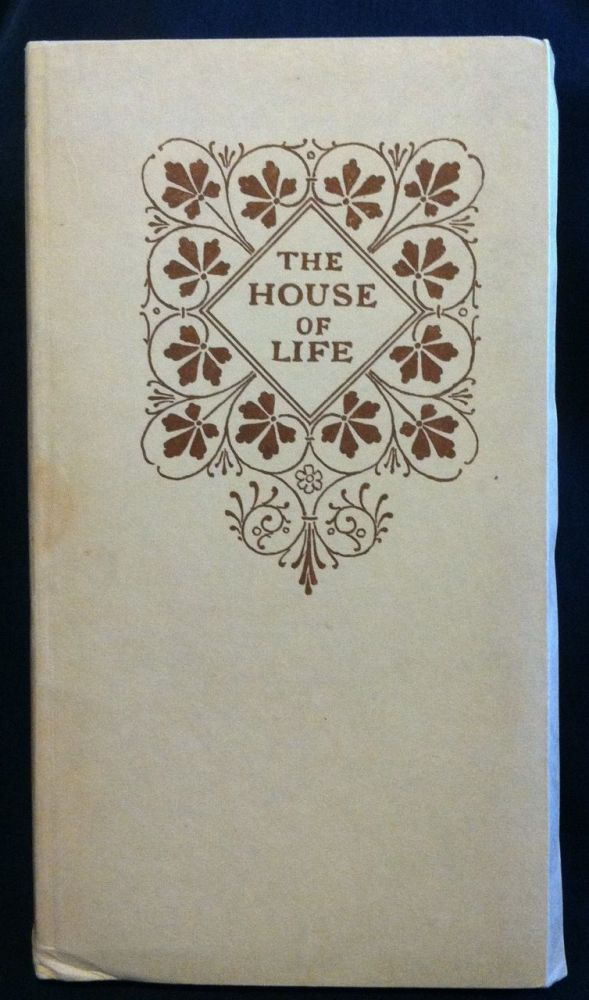 [Mosher Press] The House of Life, A Sonnet-Sequence. Dante Gabriel Rossetti.
