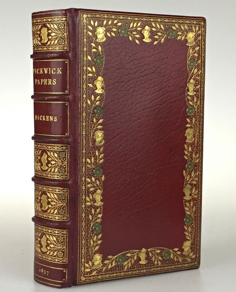 [Binding, Fine- Sangorski & Sutcliffe] The Posthumous Papers of the Pickwick Club. Charles Dickens.
