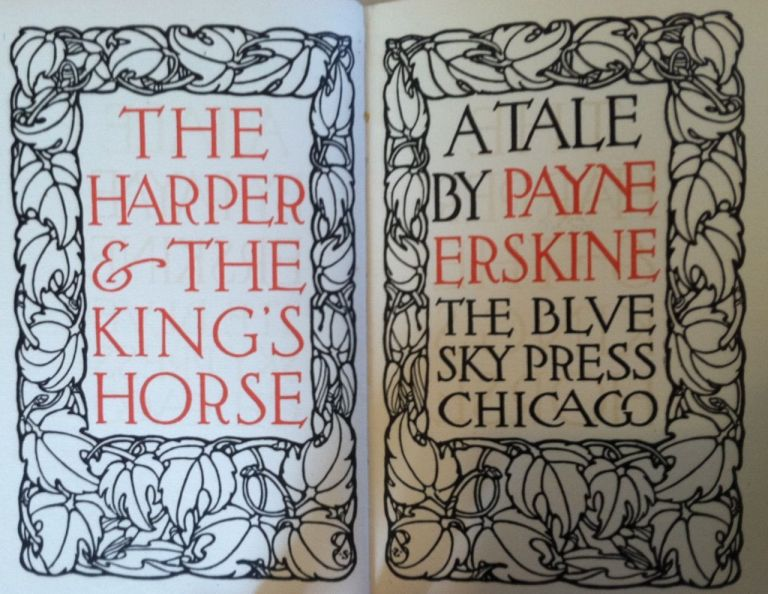 [Blue Sky Press] The Harper and the King's Horse. Payne Erskine.