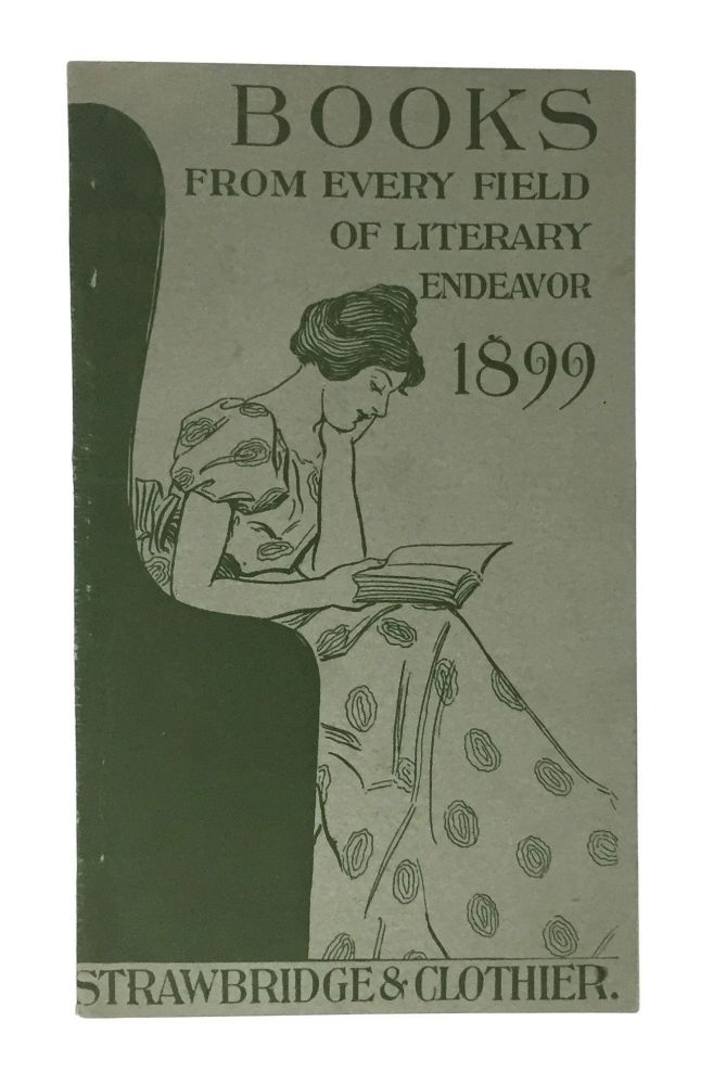 [Nineties Book List] Books From Every Field of Literary Endeavor, 1899