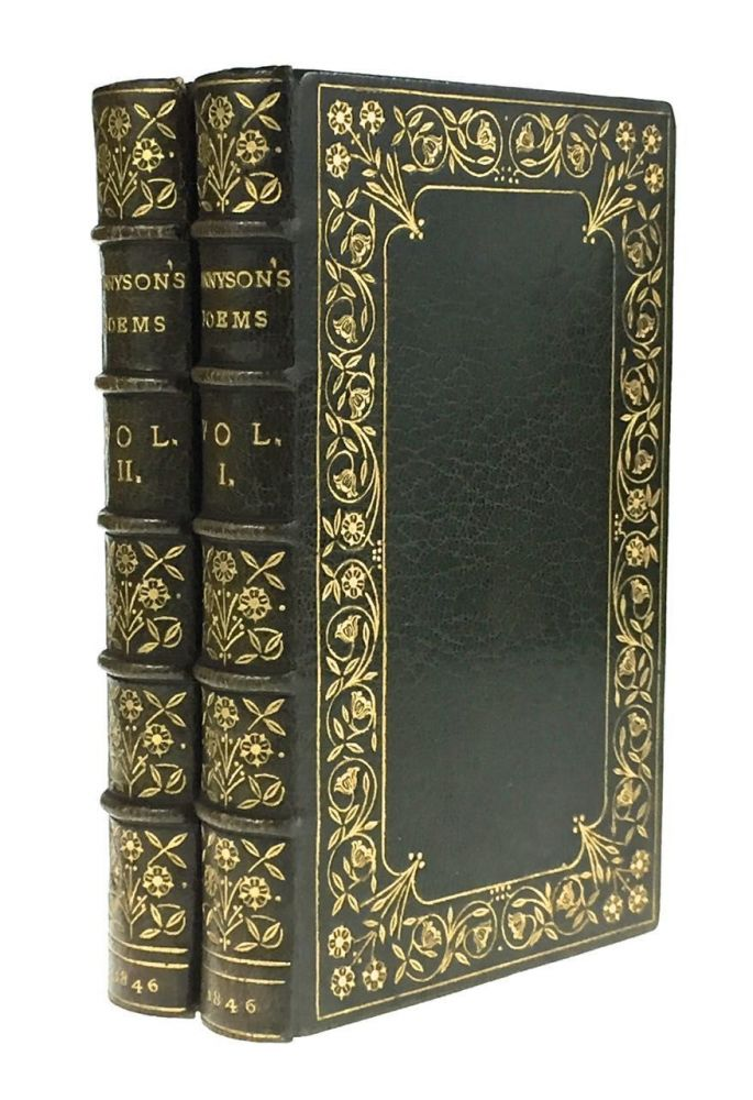 paget Binding- Florence Paget] Poems by Alfred Tennyson. Alfred Lord Tennyson.