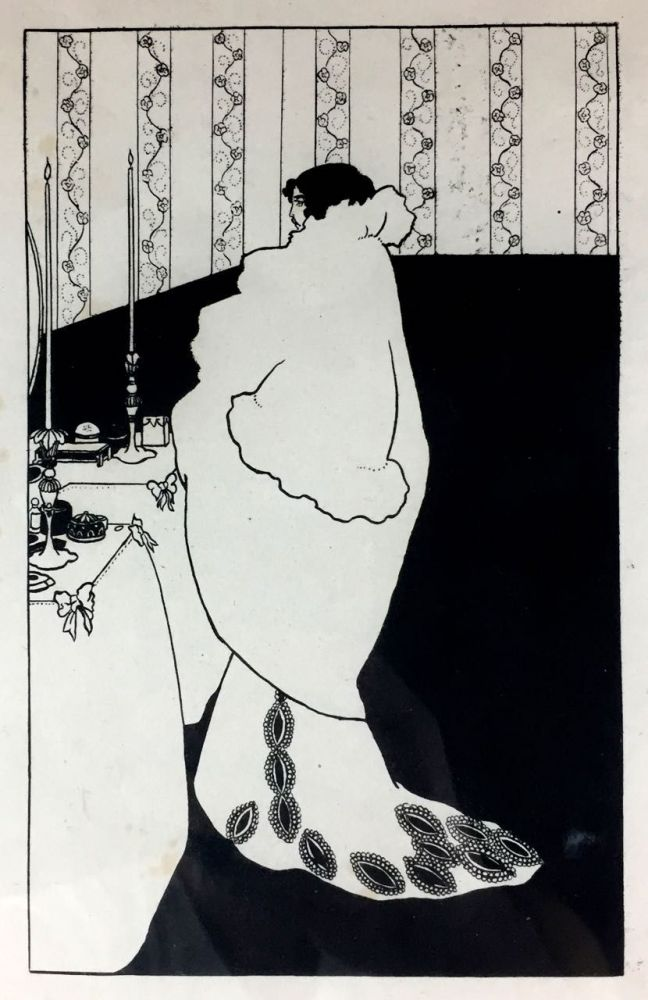 "[Beardsley, Aubrey] ""La Dame aux Camelias,"" Printer's Proof. Aubrey Beardsley."
