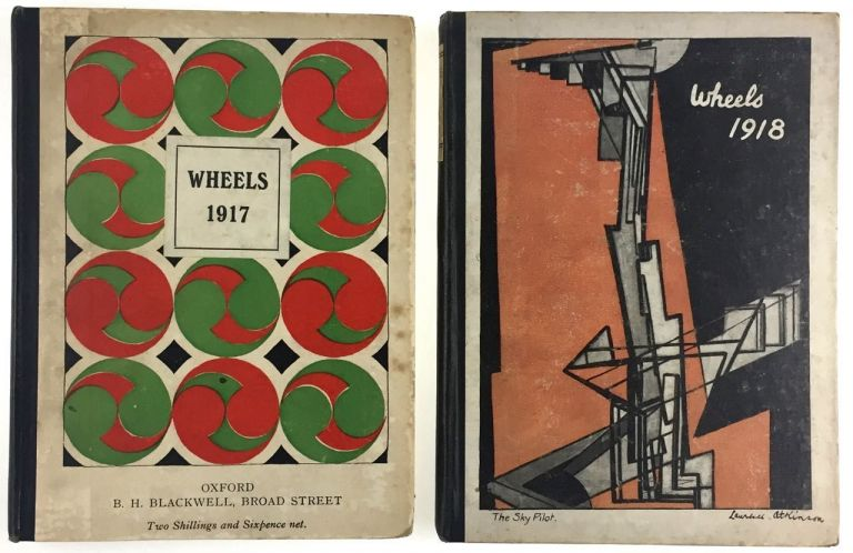 "[Sitwwell's Early Primary Vehicle] Wheels, 1917, ""Second Cycle,"" [together with] Wheels, 1918, ""Third Cycle."" Aldous Huxley, etc, Osbert, Sitwells."