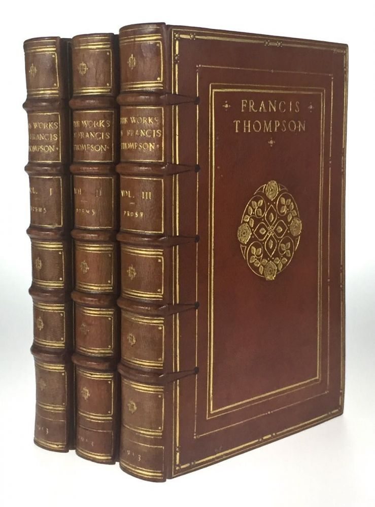 [Binding, Fine- Arts & Crafts] The Works [of Francis Thompson]. Francis Thompson.