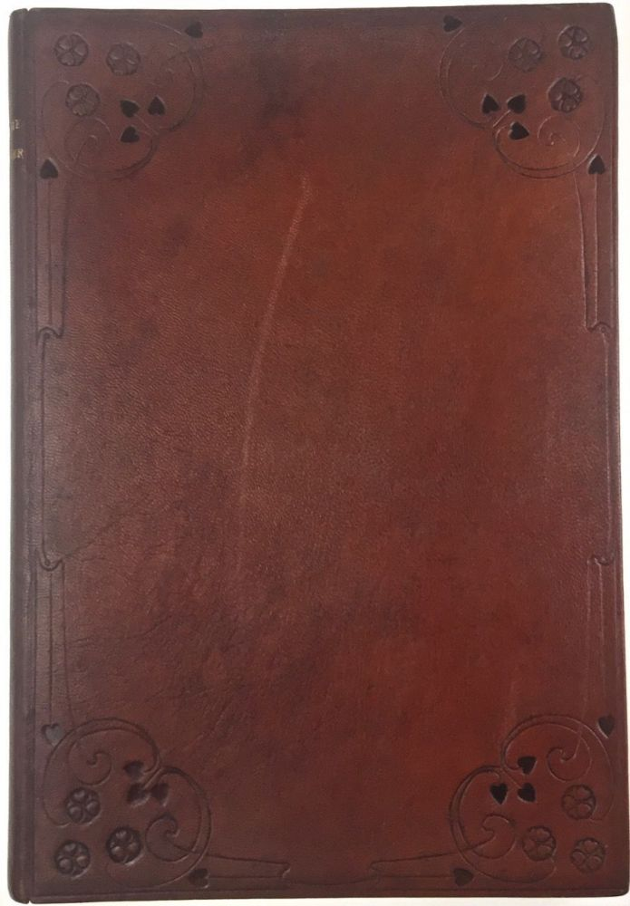 [Binding, Fine- Guild of Women Binders, Florence de Rheims] Picturesque Westminster. . Being a collection of sketches illustrating historic landmarks and places of interest in the ancient city of Westminster.