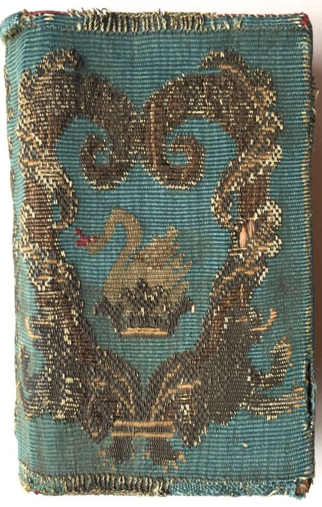 [Binding, Fine- 18th Century Embroidered Binding] Medulla Precum