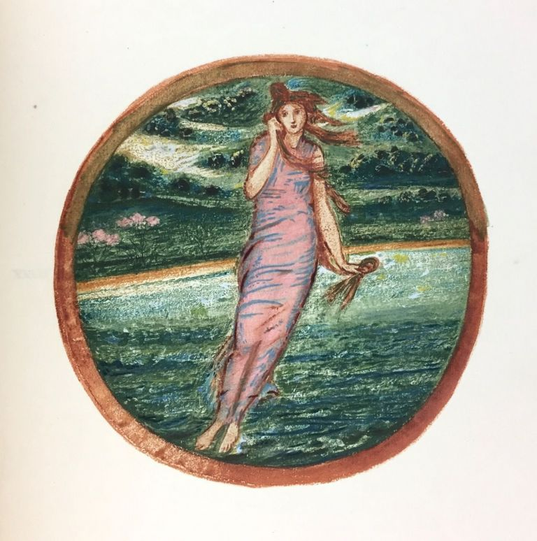 [Burne-Jones, Edward] The Flower Book. Reproductions of Thirty-Eight Watercolour Designs by Edward Burne-Jones. Edward Burne-Jones.