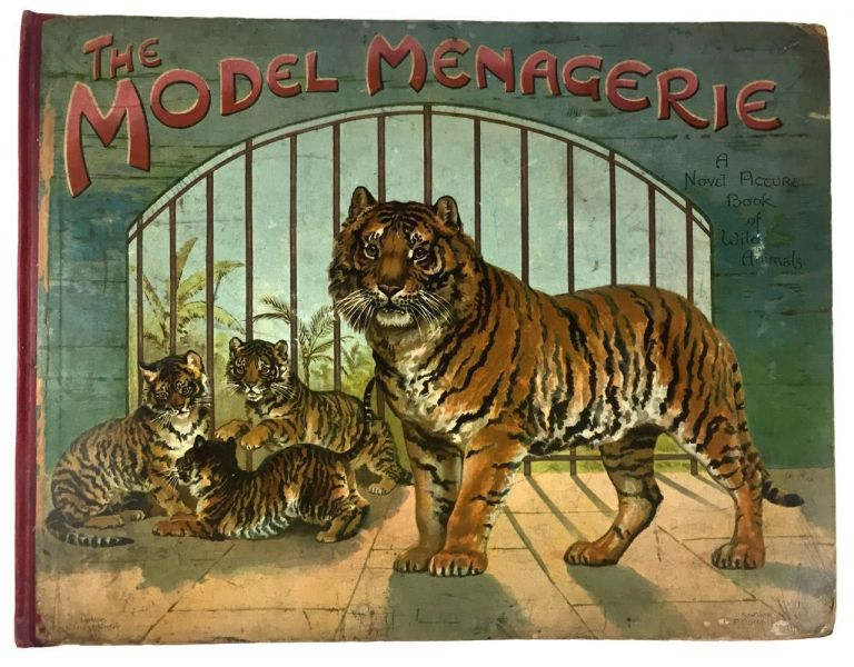 [Moveable- Classic Nister Three-Tiered Pop-up] The Model Menagerie with Natural History Stories. Lucy Weedon, etc, Evelyn Hetcher.