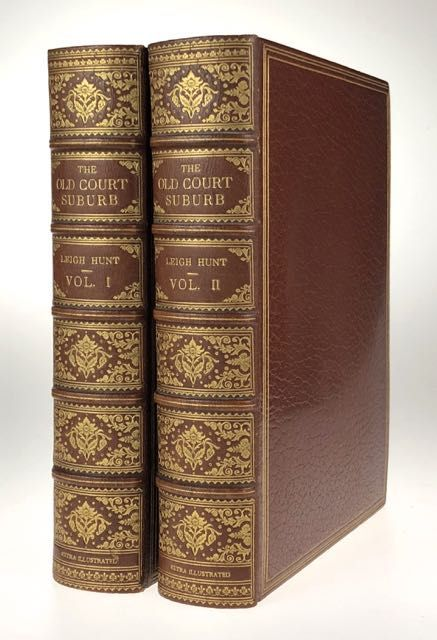 [Binding, Fine- Riviere: Edmund Sullivan and others, Signed by Illustrators, EXTRA-ILLUSTRATED] The Old Court Suburb: or Memorials of Kensington Regal, Critical & Anecdotical. Edmund Sullivan, etc.