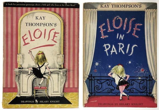 "[Thompson, Kay and Hilary Knight] Collection of Three First Editions, ""Eloise,"" with lengthy full-page presentation inscription by Thompson and Knight. Kay Thompson."
