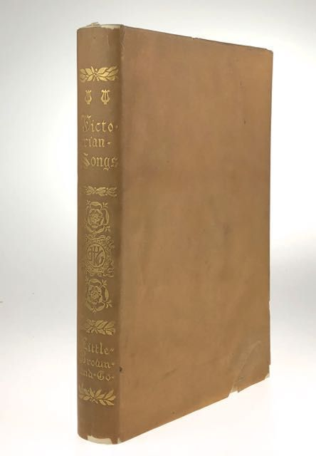 [Garrett, Edmund- 25 Copies with Two Watercolors] Victorian Songs. Lyrics of the Affections and Nature. Edmund H. Garrett.
