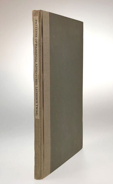 [Elston Press] The Patterne of Paineull Adventures. Apollonius of Tyre, Laurence trans. Twine.