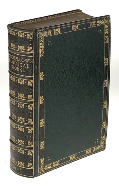 [Binding, Fine- W. H. Smith under Douglas Cockerell] The Poetical Works of Henry Wadsworth Longfellow. Henry Wadsworth Longfellow.