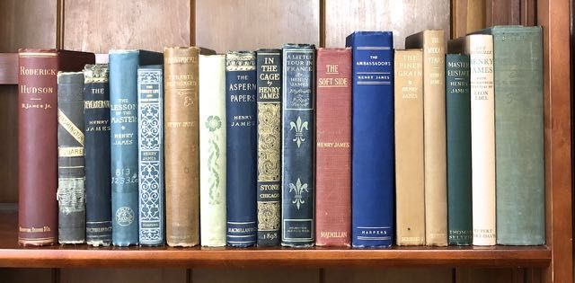 [James, Henry] Fifteen Titles, most first editions, one inscribed. Henry James.
