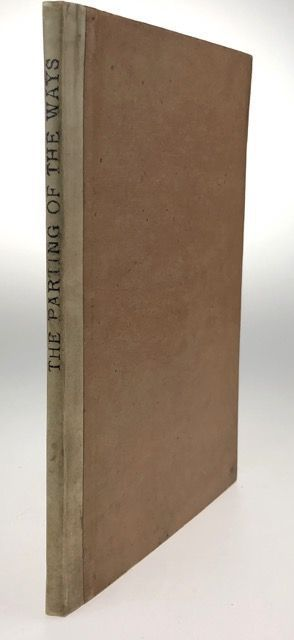 [Cobden-Sanderson, T.J.- Inscribed, His Book] The Parting of the Ways, An Address. J. W. Mackail.