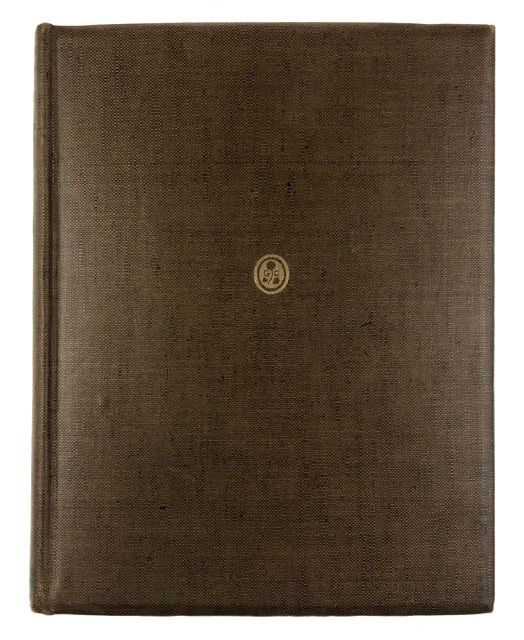 [Craig, Edward Gordon- Limited Edition, Inscribed by Craig] Woodcuts and Some Words, with Introduction by Campbell Dodgson. Edward Gordon Craig.