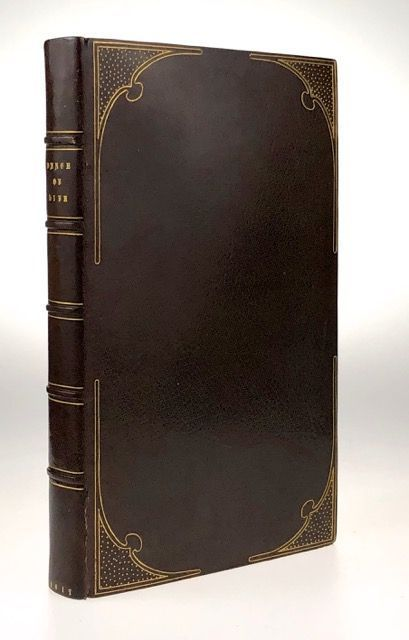 [Binding, Fine- The Hampstead Bindery] The Dance of Life, a Poem by the Author of ëDoctor Syntax. William Combe.