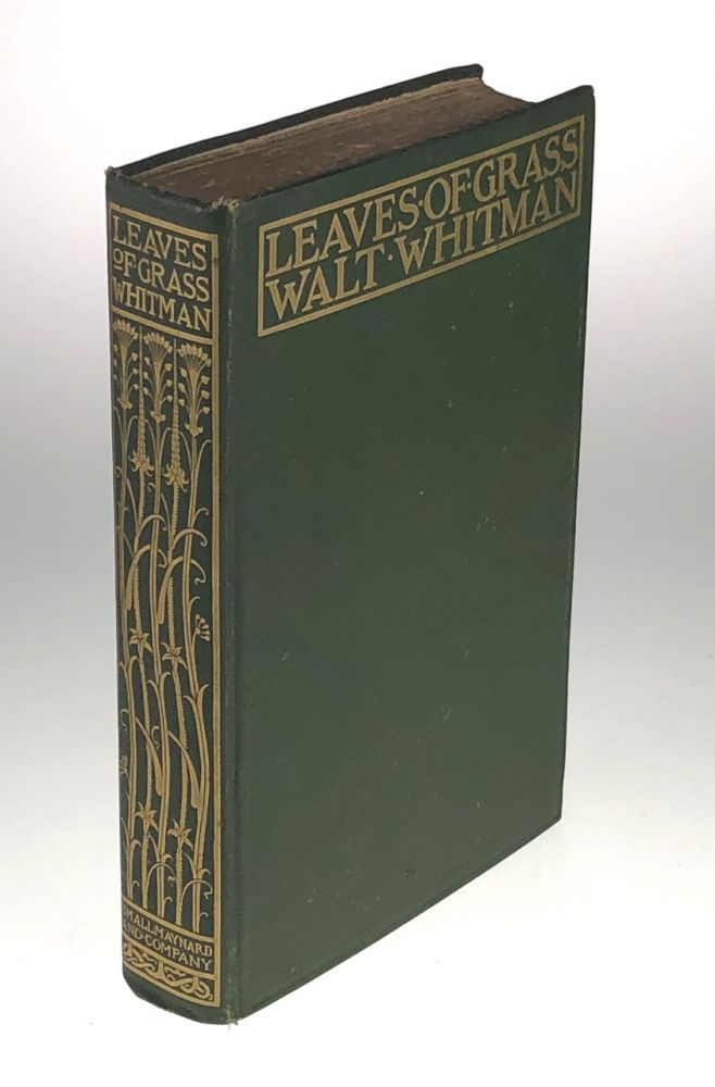 [Small, Maynard Printing- Inscribed by Herbert Small Denoting this copy one of only 18 copies, and the first copy sold] Leaves of Grass. Walt Whitman.