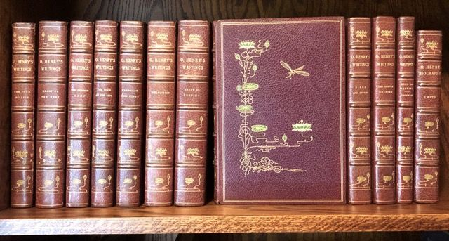 [Binding, Fine- Monastery Hill Works of O'Henry, 125 Copies] The Complete Works of O'Henry. Manuscript Edition. O'Henry.