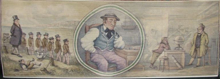 [Fore-Edge Painting- Martin Frost] Dombey and Son. Charles Dickens.