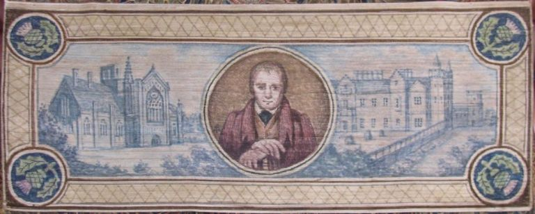 [Fore-Edge Painting- Martin Frost] Miscellaneous Poems. Sir Walter Scott.