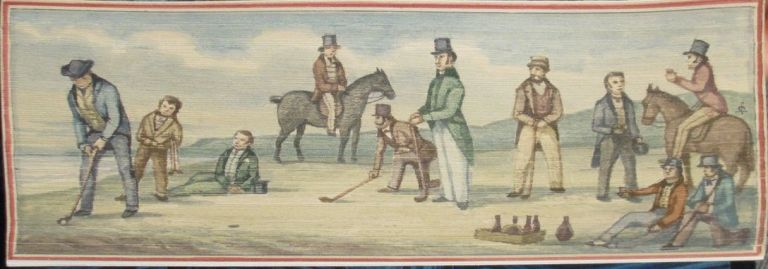[Fore-Edge Painting- Martin Frost] Golf; The Badminton Library. Horace G. Hutchinson.