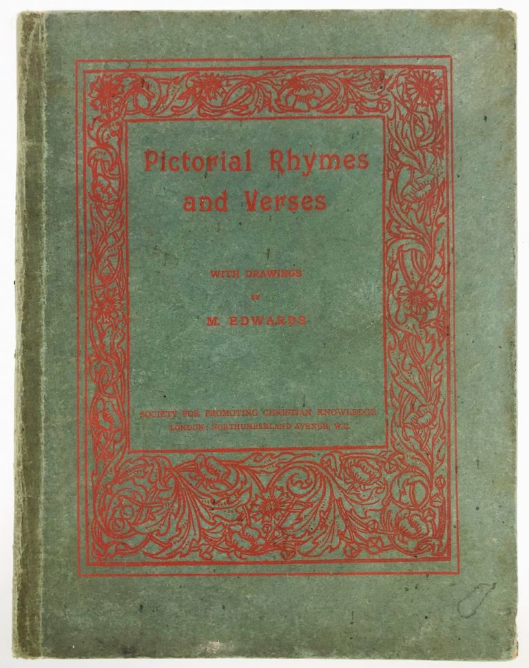 [Edwards, Mary Ellen- Rarity] Pictorial Rhymes and Verses. Mary Ellen- Rarity Edwards.