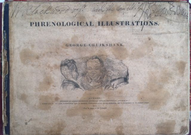Phrenological Illustrations. George Cruikshank, Presentation Copy.