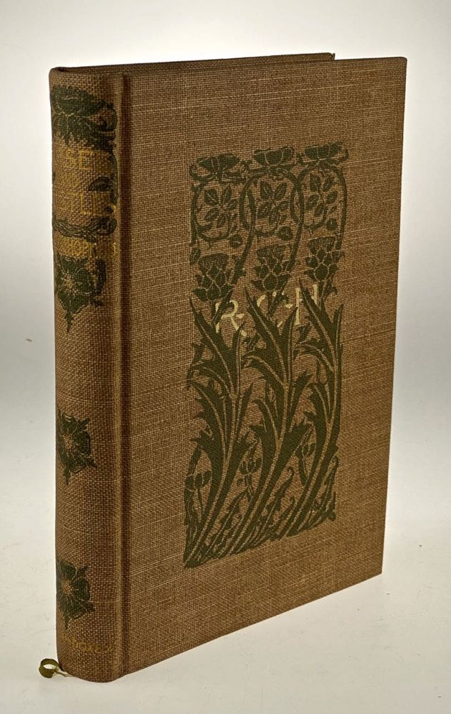 [Doxey Publication- Fine in Dust Jacket] Rose and Thistles. Rufus C. Hopkins.