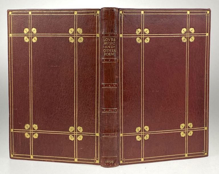 [Binding, Fine- Arts & Crafts] Love's Music and Other Poems. Annie Matheson.