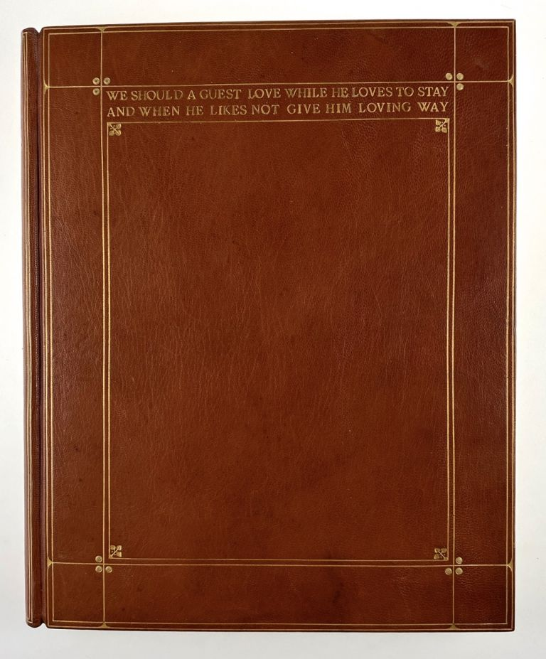 [Binding, Fine- Douglas Cockerell for W. H. Smith: Wonderful Niger Guest Book, with Original Box] Guest Book
