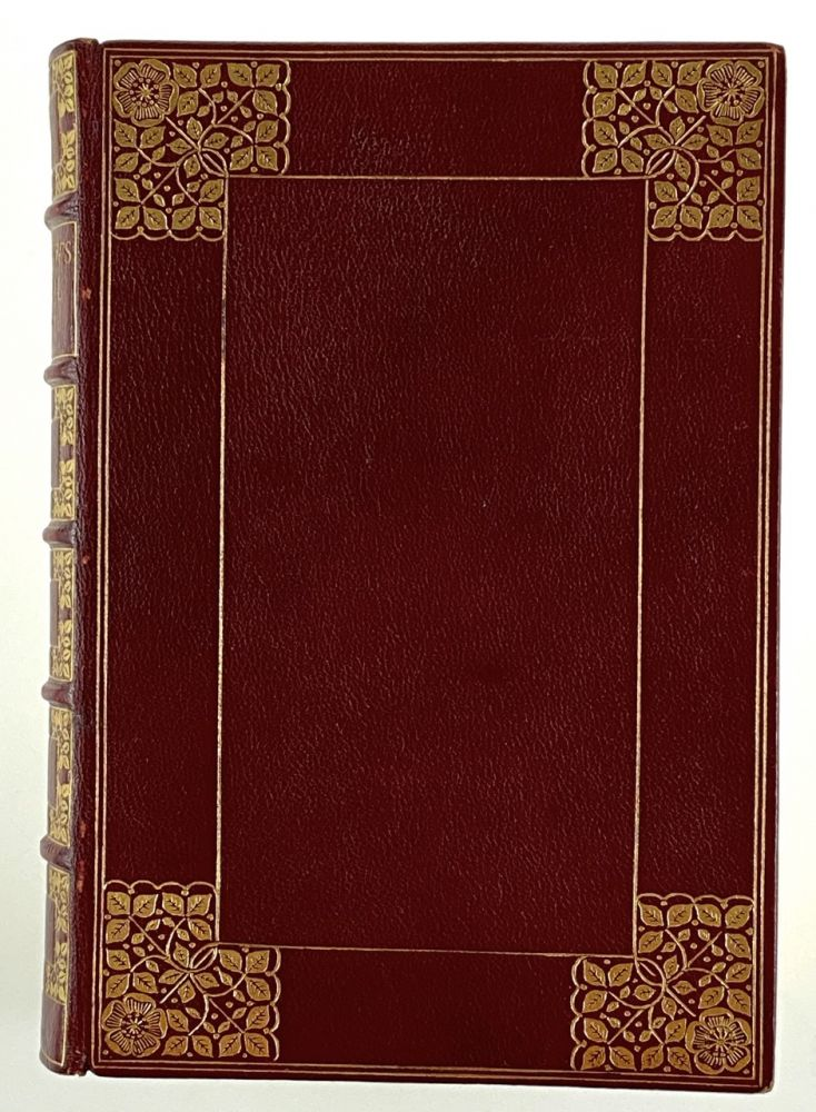 [Binding, Fine- Cockerell at W.H. Smith] The Poetical Works of Henry Wadsworth Longfellow. Henry Wadsworth Longfellow.