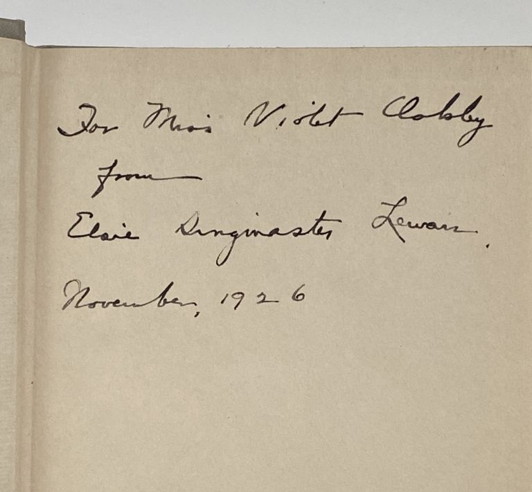 [Violet Oakley Interest- Inscribe by the Author to Oakley] The Book of the Constitution. Elsie Singmaster.
