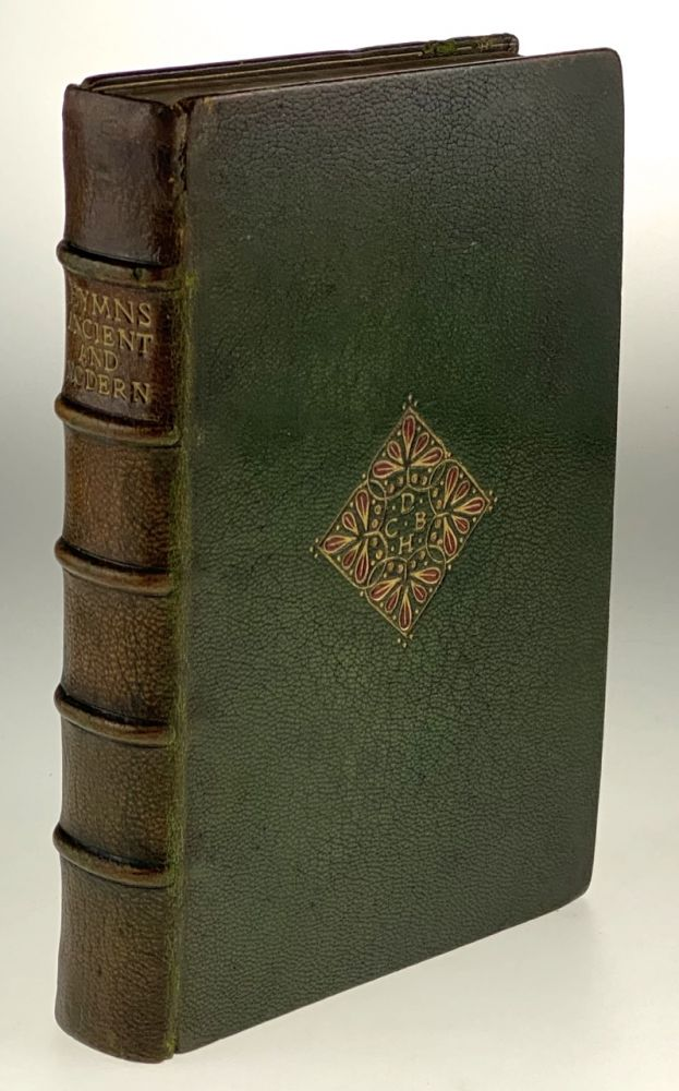 [Binding, Fine- Cockerell, at W.H. Smith Bindery] Hymns Ancient and Modern for Use in the Services of the Church with Accompanying Tunes. W. H. Monk, C. Steggall.
